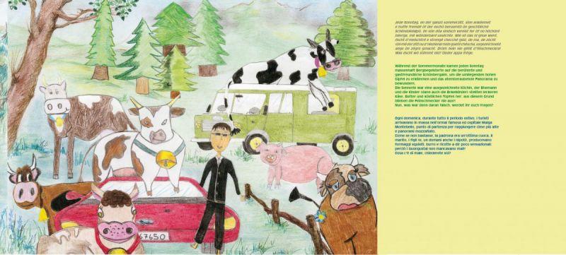Gemalte Kinderbilder buchpublikation tiere die wissen was sie wollen deutsche
